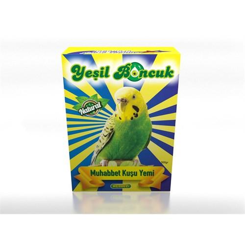 Yeşilboncuk Muhabbet Kuş Yemi 500Gr