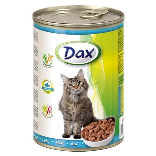 Dax Balıklı Hayvanlı Kedi Konservesi 415 Gr