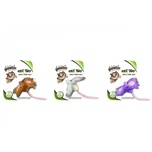 Pawise Crazy Ear Mouse - Kulaklı Fare Kedi Oyuncağı
