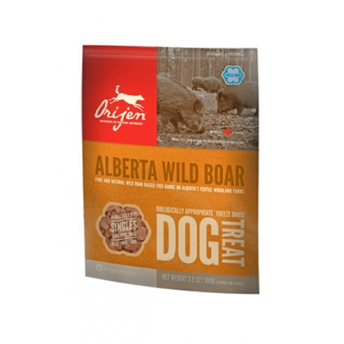 Orijen Freeze-Dried Köpek Ödülü-Wild Boar 100 Gr