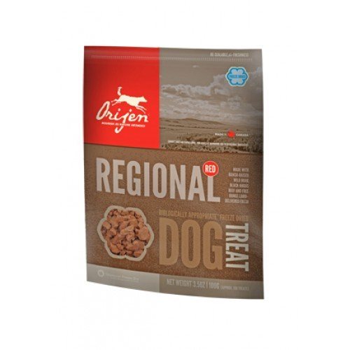 Orijen Freeze-Dried Köpek Ödülü-Regıonal Red 100 Gr