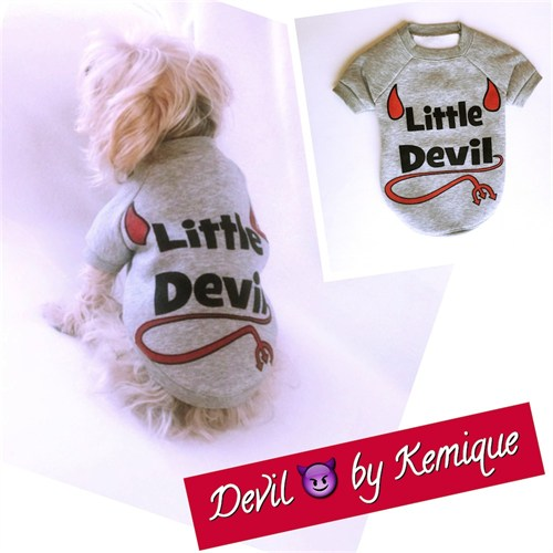 Kemique Little Devil Köpek Sweatshirt