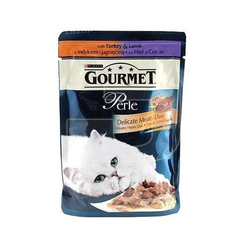Gourmet Perle Izgara Kuzu Etli ve Hindili 85 gr