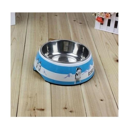 Buffer Sevimli Köpek Desenli Çelik Mama Kabı