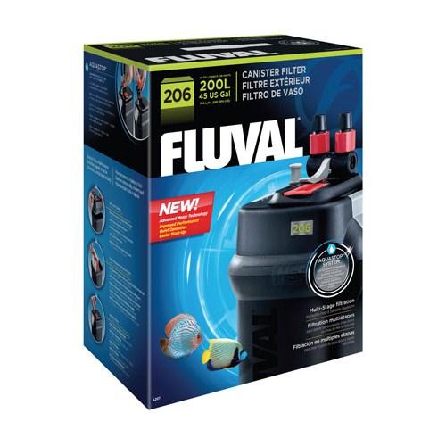 Fluval 206 Dış Filtre 780 L/H