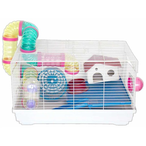 Dayang Hamster Kafes Aksesuarlı 47X30x27