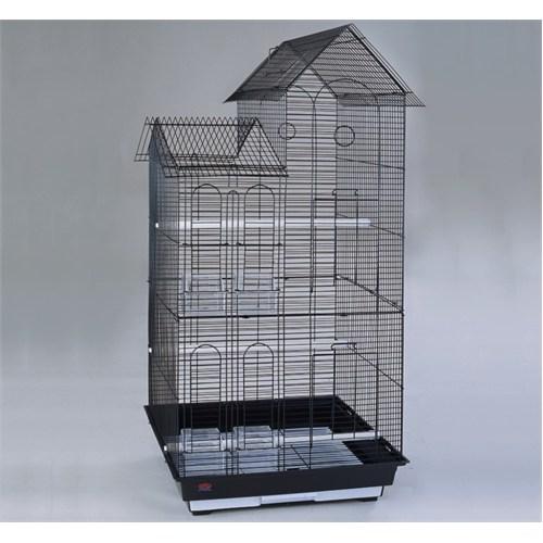 Dayang Köşk Çift Çatılı Kafes 52X41.5X110