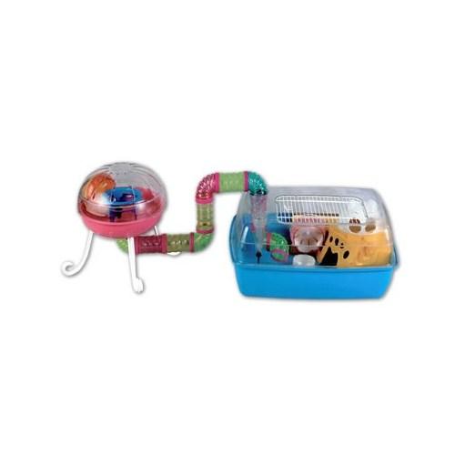 Dayang Hamster Kafes Aks. Oyunparklı Renkli