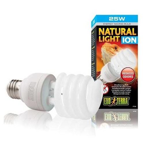 Exo Terra Natural Light İon Sürüngen Lambası 25 Watt Pt3786