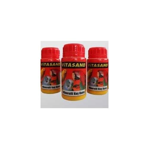 Vitasand Mineralli Kuş Kumu Şişe 350 Gr