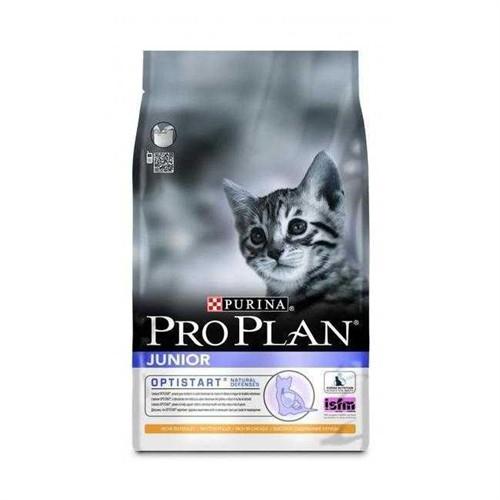 Pro Plan Junior Tavuklu Yavru Kedi Maması 3Kg