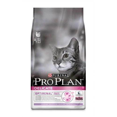 Pro Plan Delicate Seçici Kediler İçin Hindili Kedi Maması 1.5Kg