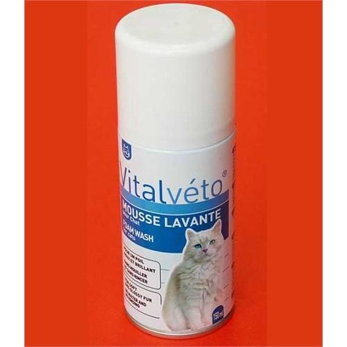 Vitalveto Köpük Kedi Şampuanı 150 Ml