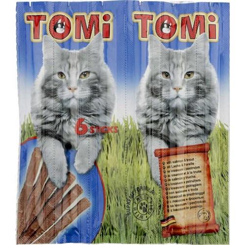 Tomi Somonlu Ve Alabalıklı Kedi Çubuk Ödül 6X30gr