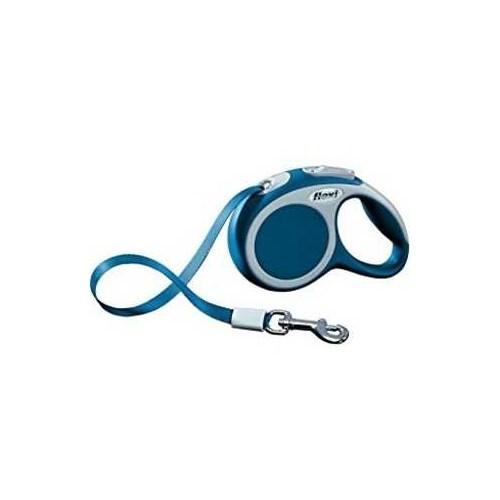 Flexi Vario Şerit Tasma 5 Metre 15 Kg Mavi