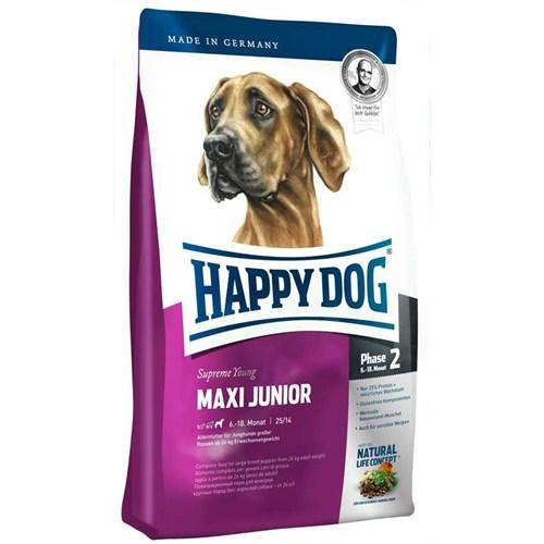 Happy Dog Maxi Junior Büyük Irk Yavru Köpek Maması 4Kg