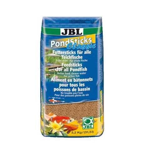 Jbl Pond Stick Havuz Balıkları İçin Çubuk Yem 31,5 Lt Çuval
