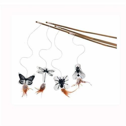 Karlie Bambu Örümcekli Kedi Oyun Oltası K46898