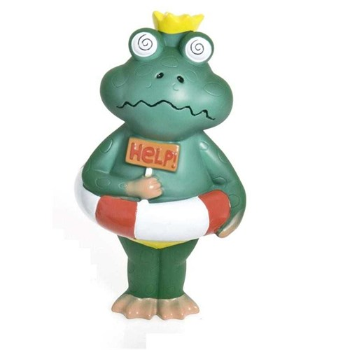 Karlie Sesli Latex Plaj Adamı Kurbağa 9X16cm K68752