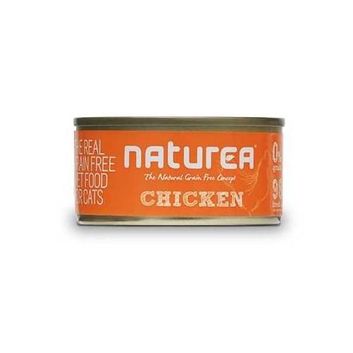 Naturea Tahılsız Tavuklu Kedi Konservesi 80 Gr