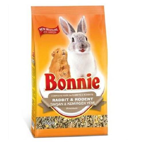 Bonnie Tavşan, Hamster Ve Kemirgen Yemi 750Gr