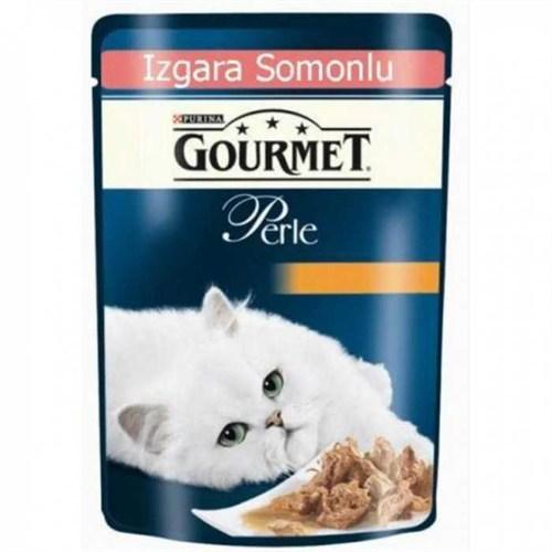 Gourmet Perle Izgara Somonlu Kedi Konservesi 85Gr