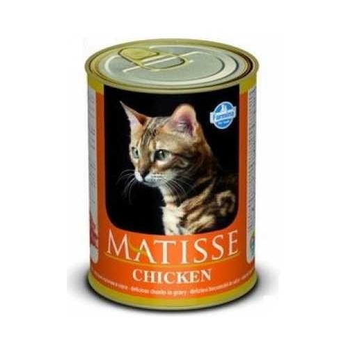 Matisse Cat Tavuk Parça Etli Kedi Konserve 405 Gr
