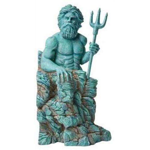 Hydor H2o Show Atlantis Akvaryum Dekor Poseidon