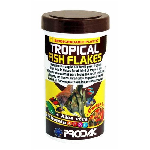 Prodac Tropical Fish Flakes Pul Balık Yemi 250 Ml 50 Gr