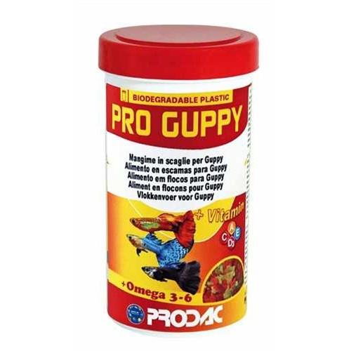 Prodac Pro Guppy Lepistes Balıkları İçin Özel Pul Yem 100 Ml