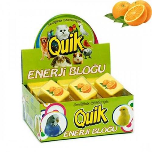 Quik Kuşlar İçin Enerji Bloğu (Portakal) 1 Adet 1061