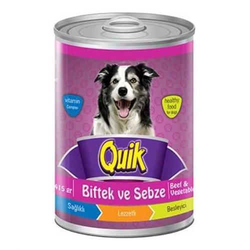 Quik Biftek Ve Sebzeli Köpek Konservesi 415 Gr