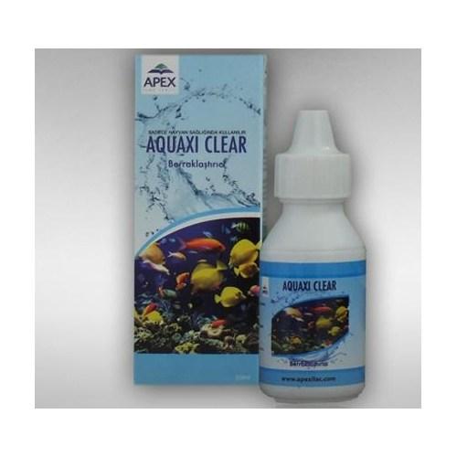 Apex Aquaxi Clear Akvaryum Su Berraklaştırıcı 50 Ml