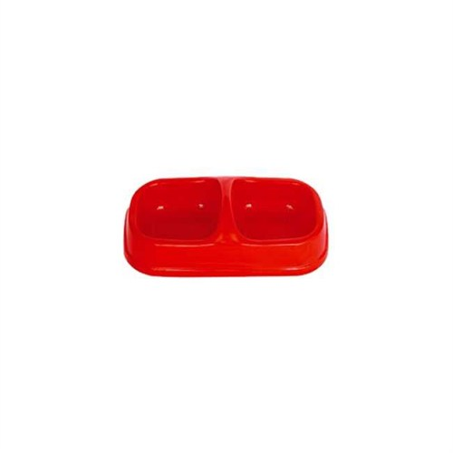 Petgarden Plastik İkili Mama Kabı (3 Boy)