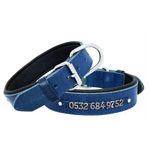 Doggie Comfort İsimlikli Deri Boyun Tasması 3,5X60 Cm Sbt-3514