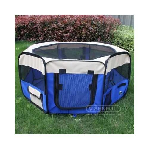 Senful Sdt 3025 Katlanır Oyun Havuzu Mavi