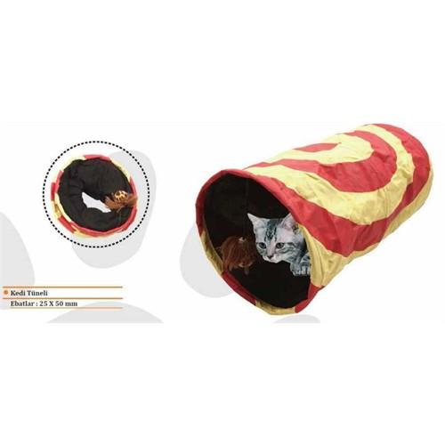 Eastland Çıngıraklı Kedi Oyun Tüneli 25*50 cm