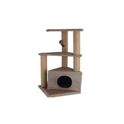 Pawise Kediler İçin Yuvalı Tırmalama 40X40x84 P28604up