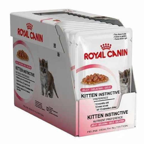 Royal Canin Kitten Instinctive İn Jelly Yavru Kedi Jel Konservesi 85Gr