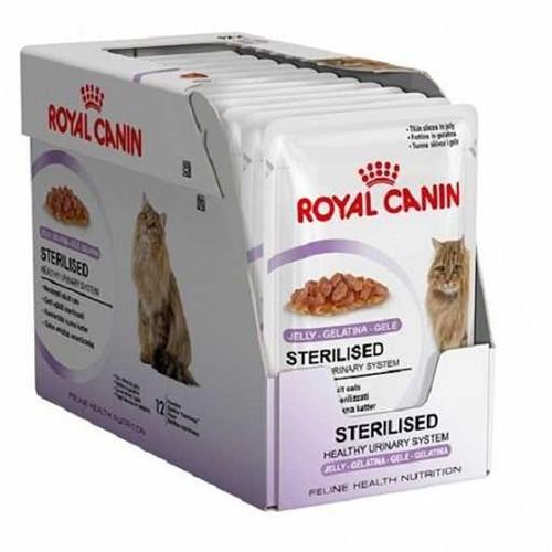 Royal Canin Sterilised Jelly Kısırlaştırılmış Kedi Konserve 85 Gr