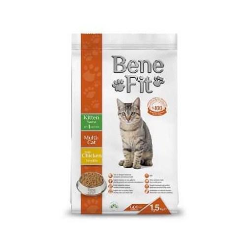 Benefit Kitten Multi-Cat Yavru Kuru Kedi Maması 1.5 Kg