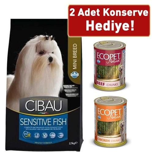 Cibau Sensitive Balıklı Minik Irk Köpek Maması 2,5 Kg