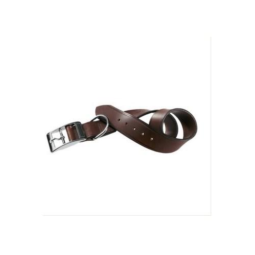 Ferplast Vıp C40/63 Deri Köpek Boyun Tasması Kahverengi