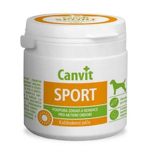 Canvit Sport Amino Asit Ve Omega 3-6 Vitaminli Köpek Vitamini 100 Gr