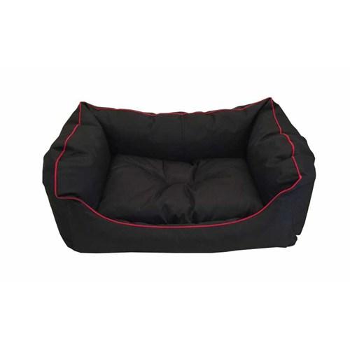 Leos Dış Mekan Küçük Ve Orta Irk Köpek Yatağı No:2 75 X 55 X 10 Cm Siyah