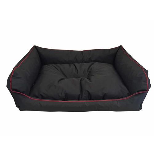 Leos Dış Mekan Orta Ve Büyük Irk Köpek Yatağı No:3 90X70x10cm Siyah