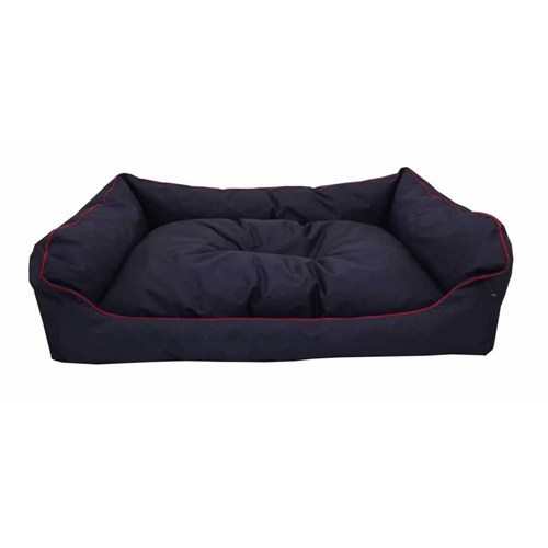 Leos Dış Mekan Orta Ve Büyük Irk Köpek Yatağı No:3 90X70x10 Cm Lacivert