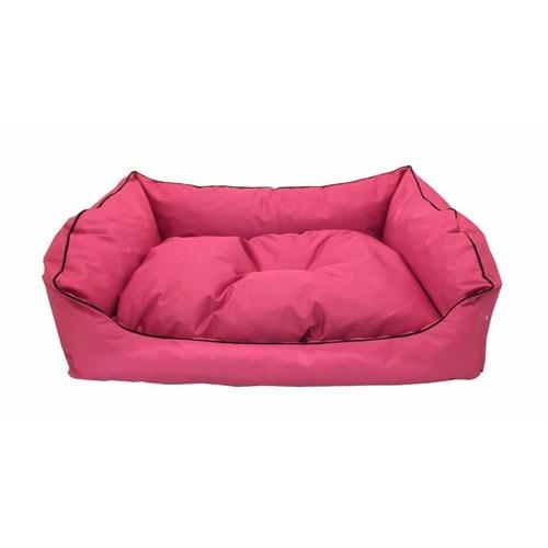 Leos Dış Mekan Orta Ve Büyük Irk Köpek Yatağı No:3 90X70x10cm Pembe