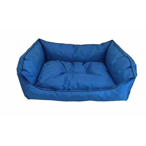 Leos Dış Mekan Orta Ve Büyük Irk Köpek Yatağı No:3 90X70x10cm Mavi