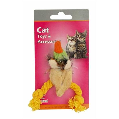 Eastland Catnipli Peluş Kedi Oyuncağı Ördek 9 Cm